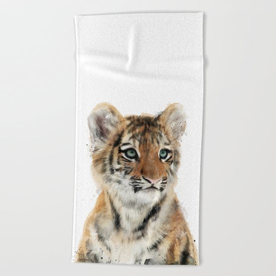 Little Tiger Beach Towel