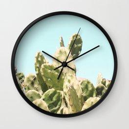 Cactus Summer Wall Clock