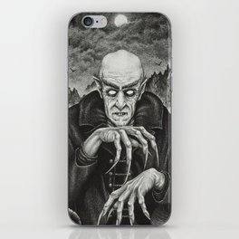 The Classic Horror (Vintage Vampires) iPhone Skin