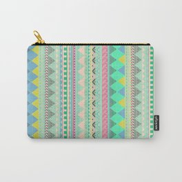 PASTEL AZTEC Carry-All Pouch