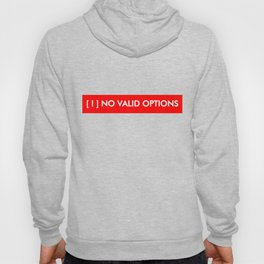 No valid options - Person of Interest Hoody