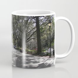 Speckled park light Coffee Mug