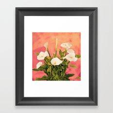 Monterey Calla Lilies Framed Art Print