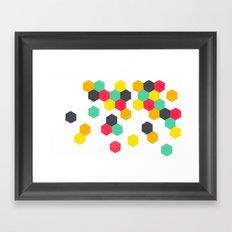 Crazy Clusters Framed Art Print