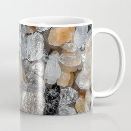Singing beach sand under a microscope Coffee Mug