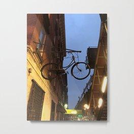 line air bike Metal Print