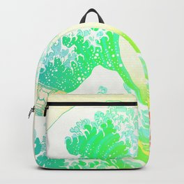 The Great Wave Rainbow Backpack