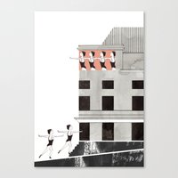 theatre Canvas Prints featuring Theatre by Ana Frois