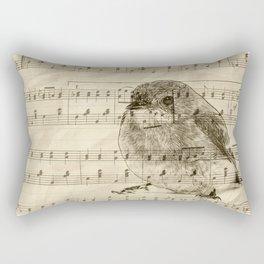 Songs of Birds Rectangular Pillow