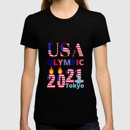USA World Sports Fan Tokyo Japan Olympic Not 2020 But 2021 T-shirt