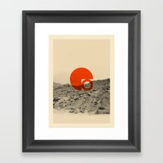 Symbol of Chaos Invert version Framed Art Print