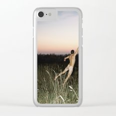 The Sunset Sky Clear iPhone Case