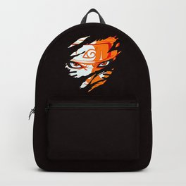 Face of Naruto Backpack