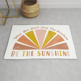 Be The Sunshine Rug