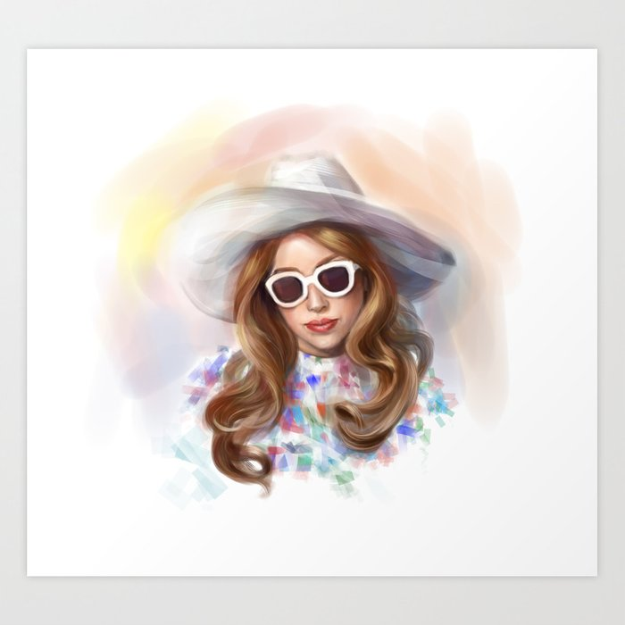 Mother Monster in  LA Art Print