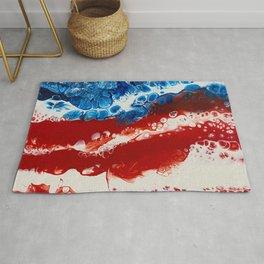 Patriotic Acrylic Rug