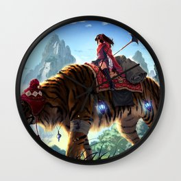 Karma Journey Wall Clock
