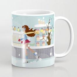 Ice Skating Girl Coffee Mug