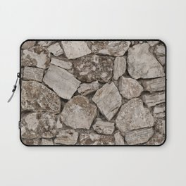 Old Rustic Stone Wall Laptop Sleeve