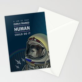 Even a Trained Human Could Do It Stationery Cards