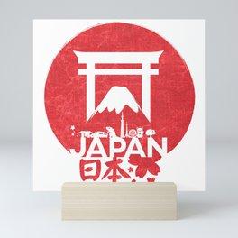 Japan in one Mini Art Print
