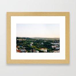 Cretan landscape Framed Art Print