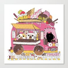 IceCream Truck Canvas Print