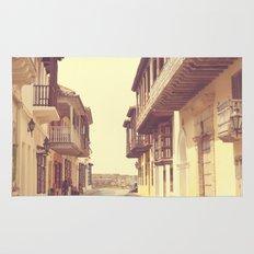 Summer Love Alone (vintage urban photography) Rug