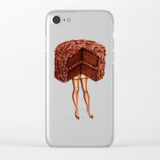 Cake Girl - Devil's Food Clear iPhone Case
