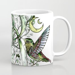 Hummingbird Garden Party Coffee Mug
