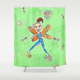 Sporty Spice Shower Curtain
