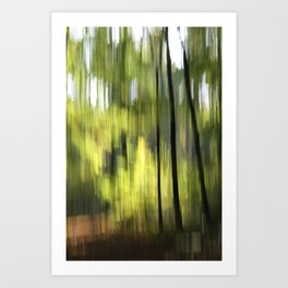 autumn abstract #o6 Art Print