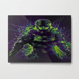 Future Halo Metal Print
