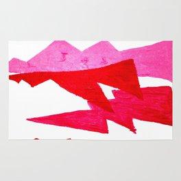 Lumpy Pink Lightning1 Rug