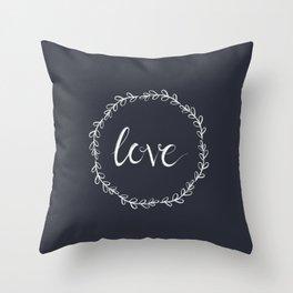 Love Vine Throw Pillow
