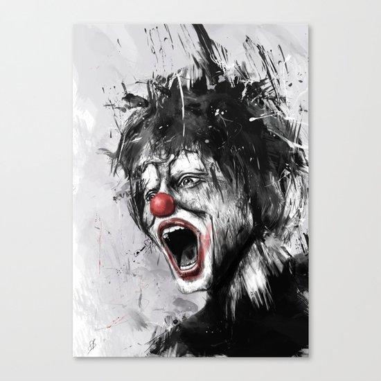 The clown Canvas Print