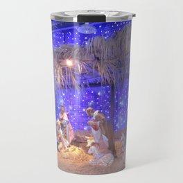 Christmas Nativity Scene Travel Mug