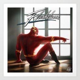 The Flash Dance Art Print