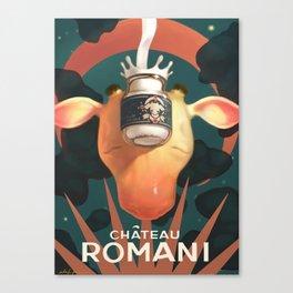 Chateau Romani Canvas Print