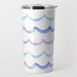 Life is Swell - Ombre Waves Travel Mug
