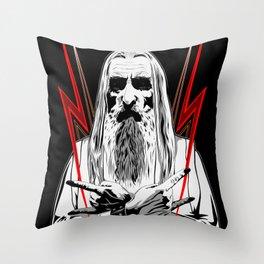 Metal Master Throw Pillow
