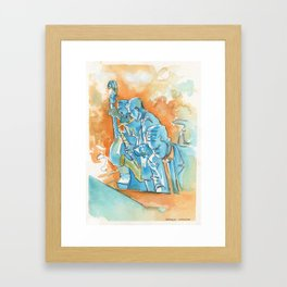 Jazz Club Framed Art Print
