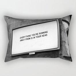 BILLBOARD FANTASIES #2 Rectangular Pillow