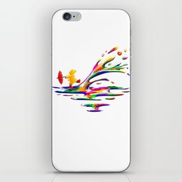 Splashing iPhone Skin