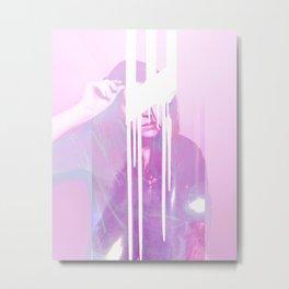 Girl Emissions I Metal Print