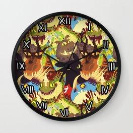 Dragons! Wall Clock