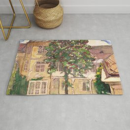 "Koloman (Kolo) Moser ""Flowering chestnut tree"" Rug"