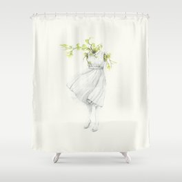 El Silencio Shower Curtain
