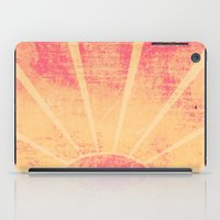 hemingway iPad Cases featuring The Sun Also Rises (Peach Wash) by Tami Goemilar