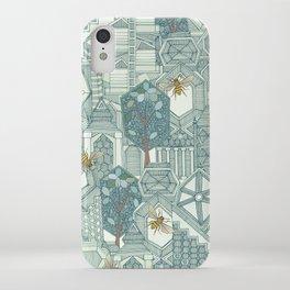 hexagon city iPhone Case